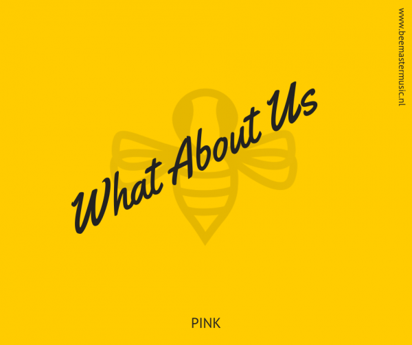 Pink – What About Us – Arrangementen voor koor en vocal group – Arrangements for choir and vocal group