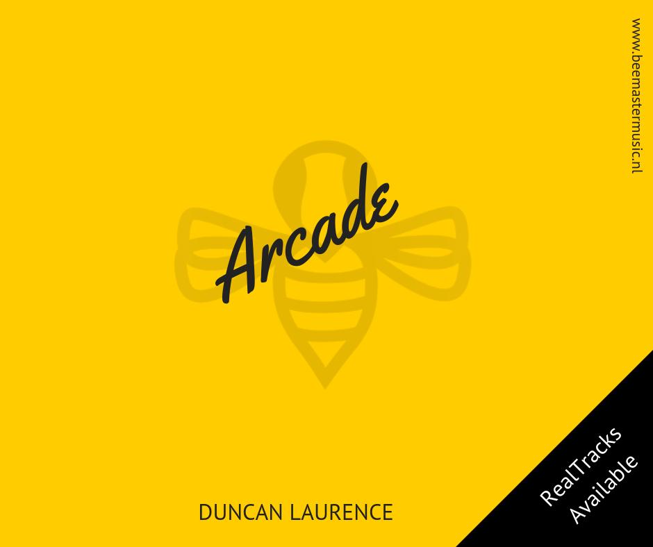 Duncan Laurence - Arcade - Arrangementen voor koor en vocal group - Arrangements for choir and vocal group - website