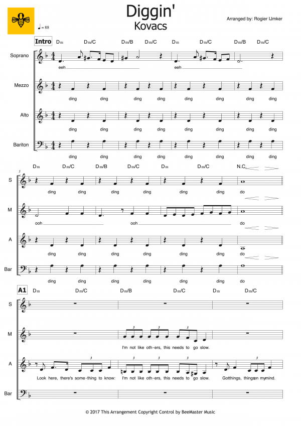 Diggin' (SMAB+piano) 1