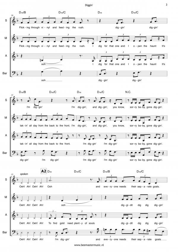 Diggin' (SMAB+piano) 3