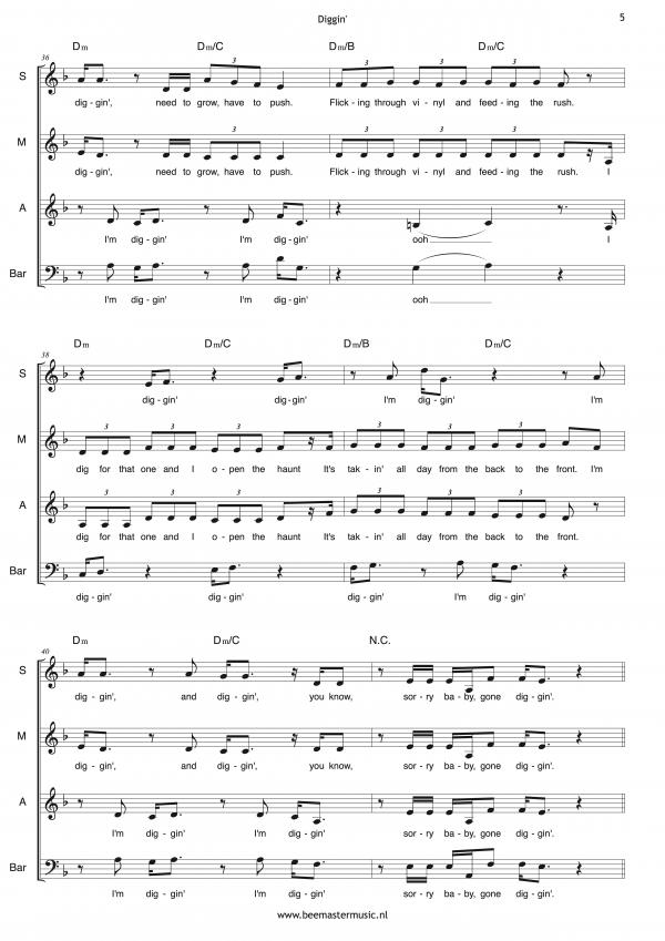 Diggin' (SMAB+piano) 5